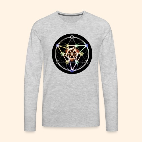 Classic Alchemical Cycle - Men's Premium Long Sleeve T-Shirt