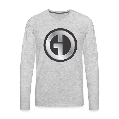 Gristwood Design Logo (No Text) For Dark Fabric - Men's Premium Long Sleeve T-Shirt
