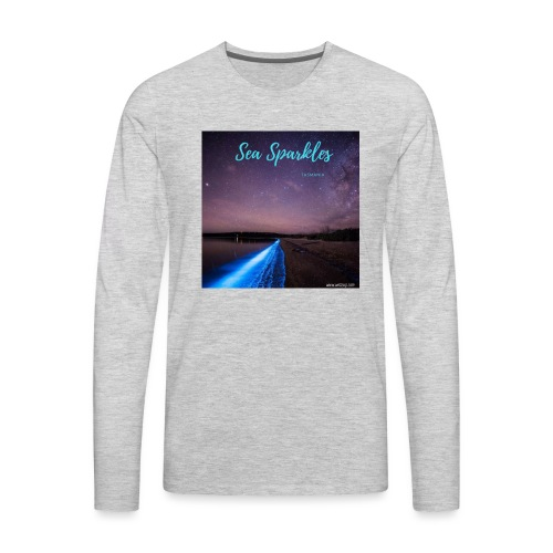 Tasmanian Sea Sparkles - Men's Premium Long Sleeve T-Shirt