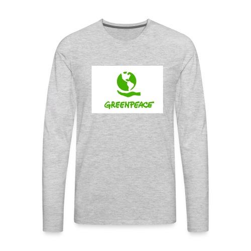 greenpeace - Men's Premium Long Sleeve T-Shirt