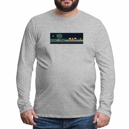 Twitter Header 01 - Men's Premium Long Sleeve T-Shirt