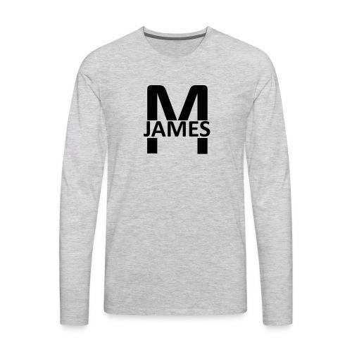 James - Men's Premium Long Sleeve T-Shirt