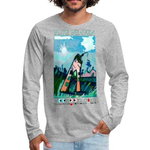 Blue Heaven - Men's Premium Long Sleeve T-Shirt