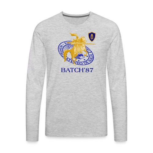 Ateneo Batch 87 - Men's Premium Long Sleeve T-Shirt