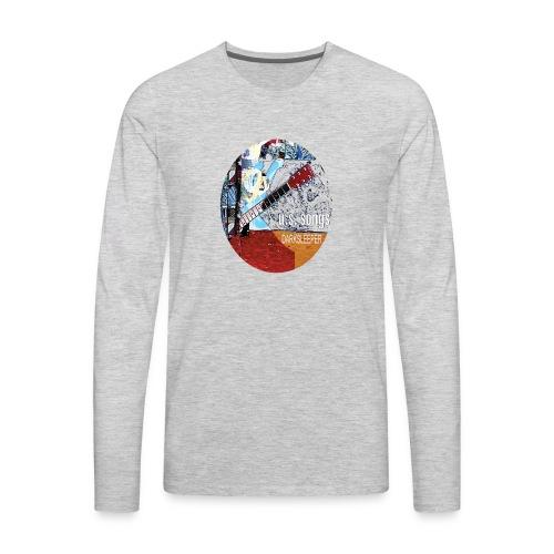 US circle 2 - Men's Premium Long Sleeve T-Shirt