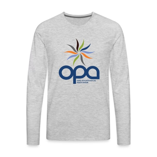 Long-sleeve t-shirt with full color OPA logo - Men's Premium Long Sleeve T-Shirt