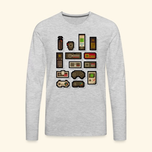 pixelcontrol - Men's Premium Long Sleeve T-Shirt