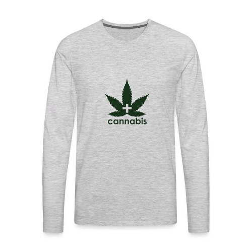 Medical Cannabis Supporter - Men's Premium Long Sleeve T-Shirt
