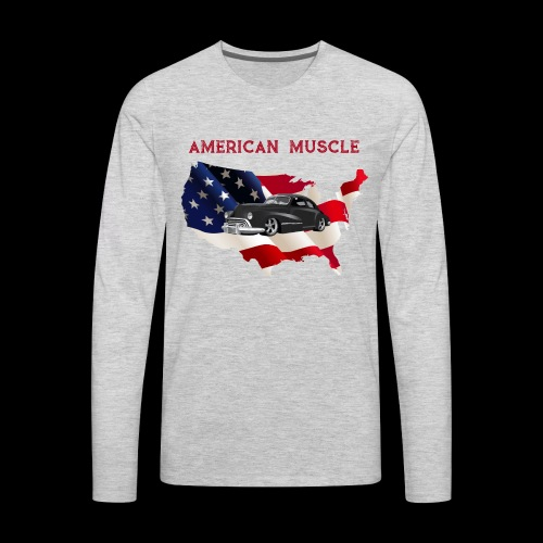 US Muscle - Men's Premium Long Sleeve T-Shirt