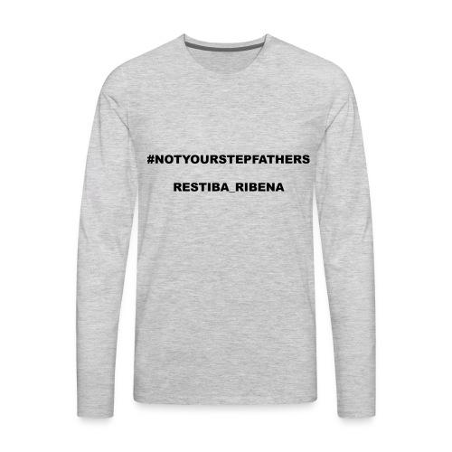 Restiba_Ribena Official Merch - Men's Premium Long Sleeve T-Shirt