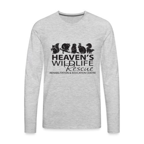 Heaven's Wildlife Rescue - Men's Premium Long Sleeve T-Shirt