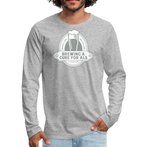 Brewing A Cure Logo Merchandise - Men's Premium Long Sleeve T-Shirt