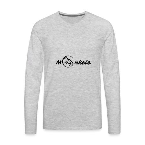 fitness black logo limited edition - Men's Premium Long Sleeve T-Shirt