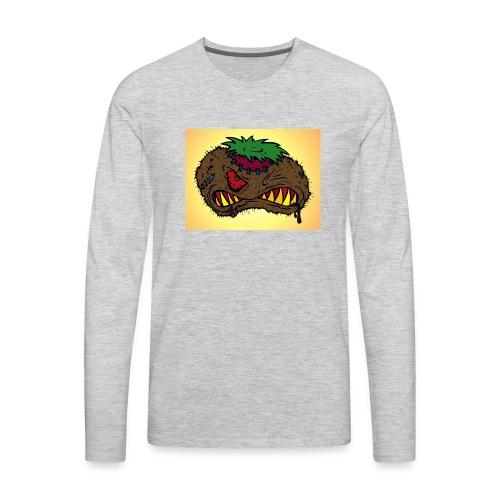 Evil Monster - Men's Premium Long Sleeve T-Shirt