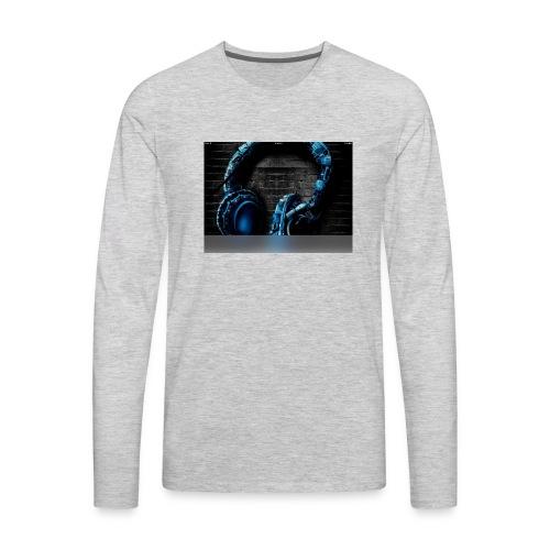 Headphonesm - Men's Premium Long Sleeve T-Shirt