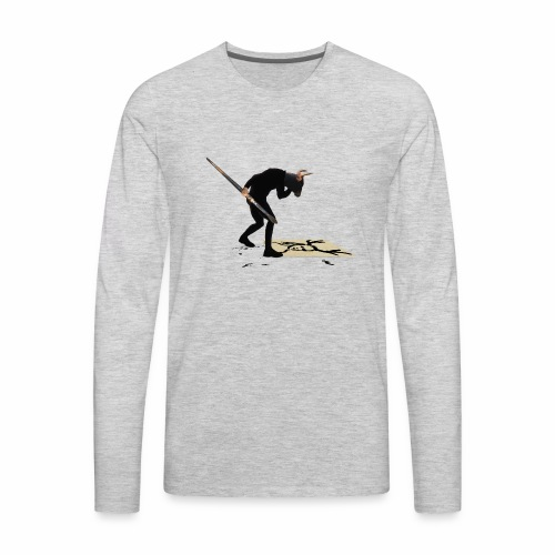 Anguish Artist and AntlerGirl - Men's Premium Long Sleeve T-Shirt
