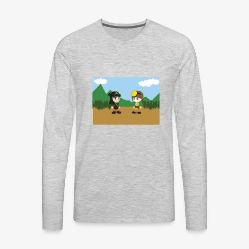 Digital Pontians - Men's Premium Long Sleeve T-Shirt