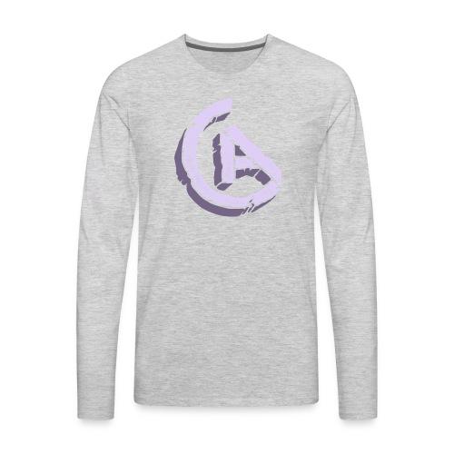 20anthony RockSolid Tee Back - Men's Premium Long Sleeve T-Shirt