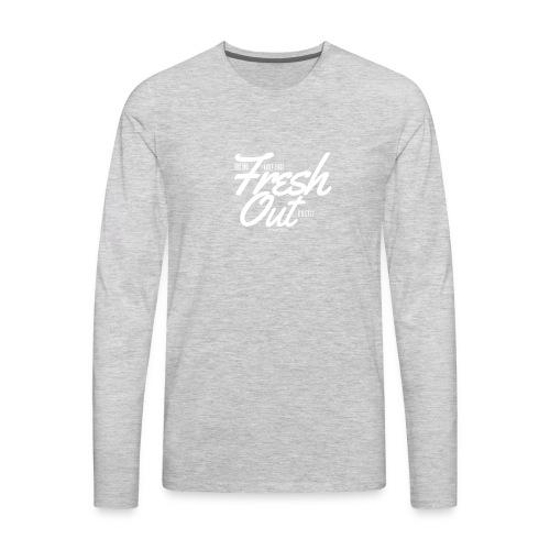 Fresh Out Beats Logo 24 - Men's Premium Long Sleeve T-Shirt