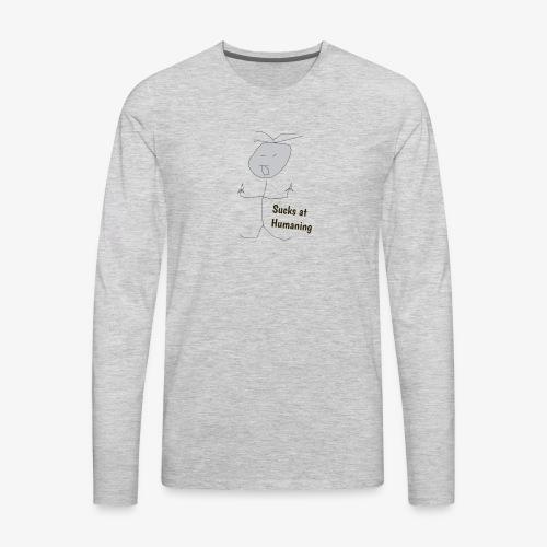 suckit2 - Men's Premium Long Sleeve T-Shirt