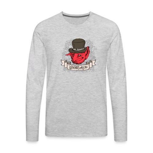 Duende Rojo - Men's Premium Long Sleeve T-Shirt