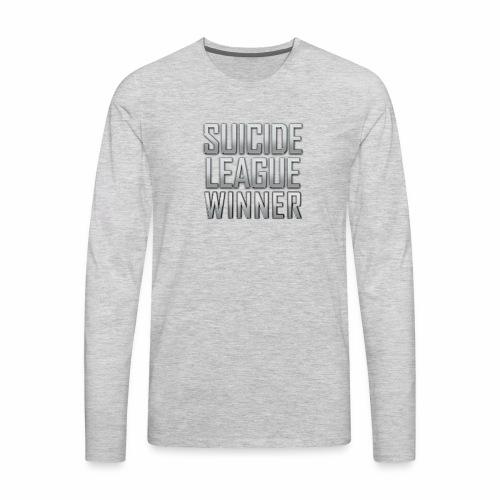 League Winner - Men's Premium Long Sleeve T-Shirt
