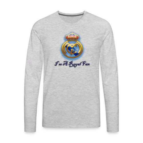 realmadridfan - Men's Premium Long Sleeve T-Shirt