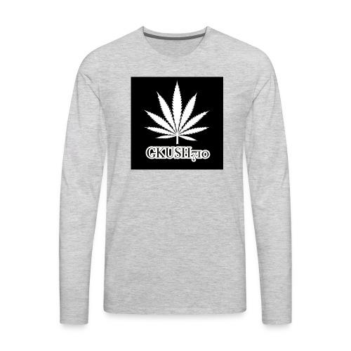 Weed Leaf Gkush710 Hoodies - Men's Premium Long Sleeve T-Shirt
