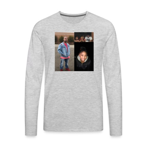 Family🙌🏽 - Men's Premium Long Sleeve T-Shirt