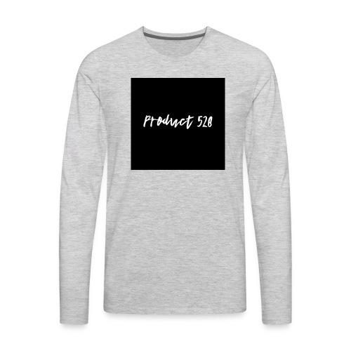 Product 528- black logo - Men's Premium Long Sleeve T-Shirt