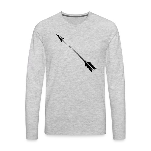 arrow merch - Men's Premium Long Sleeve T-Shirt
