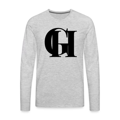GH Logo - Men's Premium Long Sleeve T-Shirt