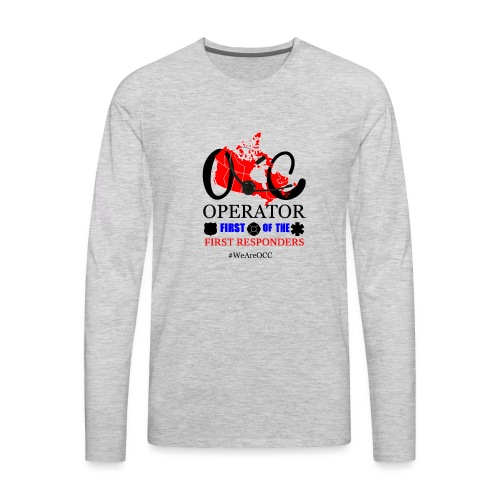 We Are OCC english - Men's Premium Long Sleeve T-Shirt
