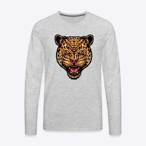 strength_and_focus_jaguar - Men's Premium Long Sleeve T-Shirt