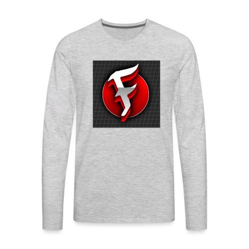 Farpos LOGO - Men's Premium Long Sleeve T-Shirt