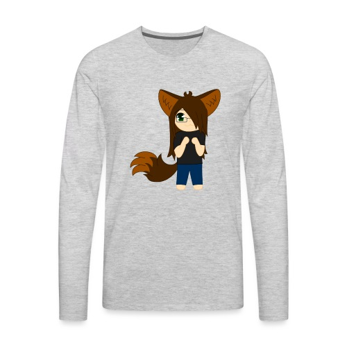 Khibi Kibi - Men's Premium Long Sleeve T-Shirt