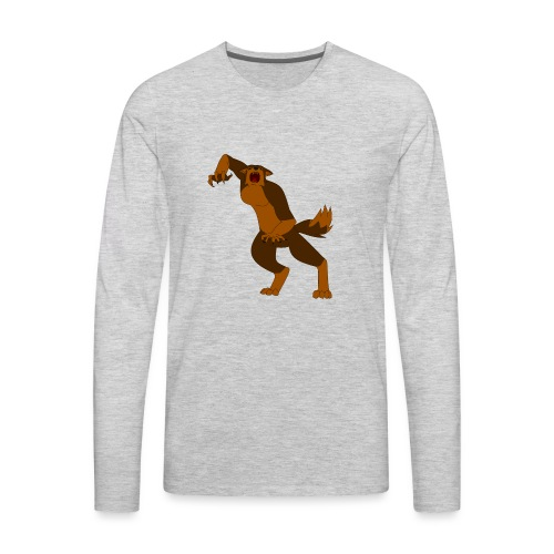 Werewolf Kiba - Men's Premium Long Sleeve T-Shirt