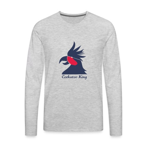 Cockatoo Logo - Men's Premium Long Sleeve T-Shirt