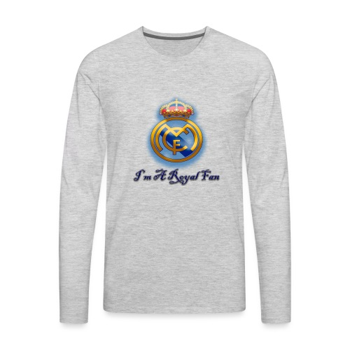 realmadridfan - Men's Premium Long Sleeve T-Shirt