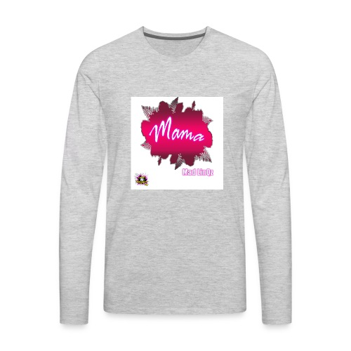 Mama Line - Men's Premium Long Sleeve T-Shirt