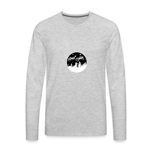 Free Song - Men's Premium Long Sleeve T-Shirt