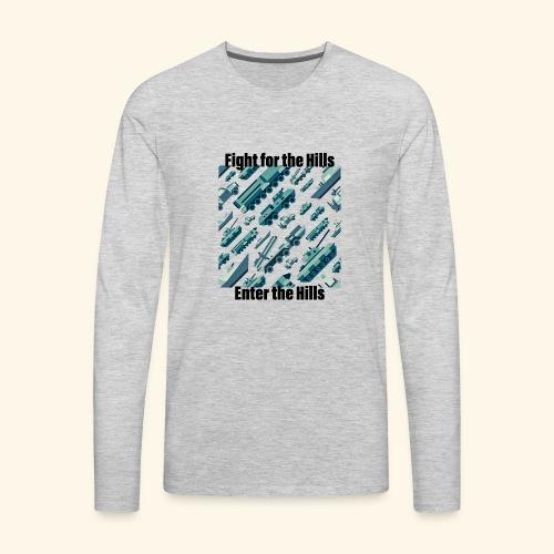 Fight or Enter - Men's Premium Long Sleeve T-Shirt