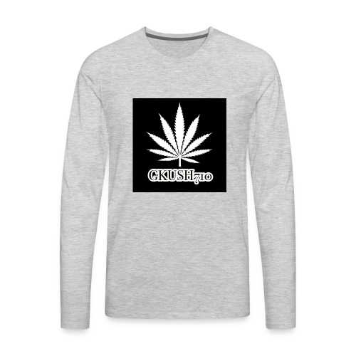Weed Leaf Gkush710 Hoodies - Men's Premium Long Sleeve T-Shirt