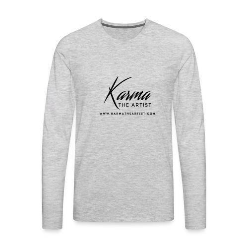 Karma - Men's Premium Long Sleeve T-Shirt