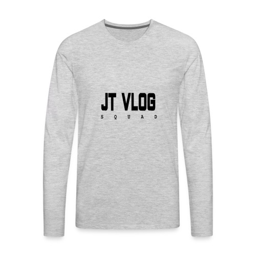 jt vlog squad - Men's Premium Long Sleeve T-Shirt