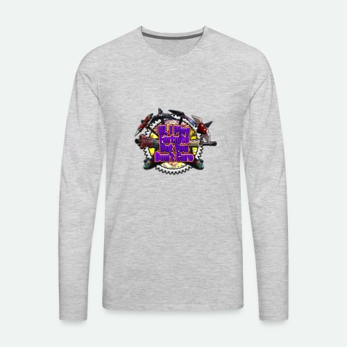I Play Fortnut - Men's Premium Long Sleeve T-Shirt