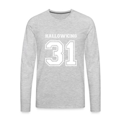 Halloween Hallowking - Men's Premium Long Sleeve T-Shirt