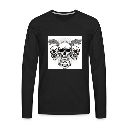 Skulls - Men's Premium Long Sleeve T-Shirt