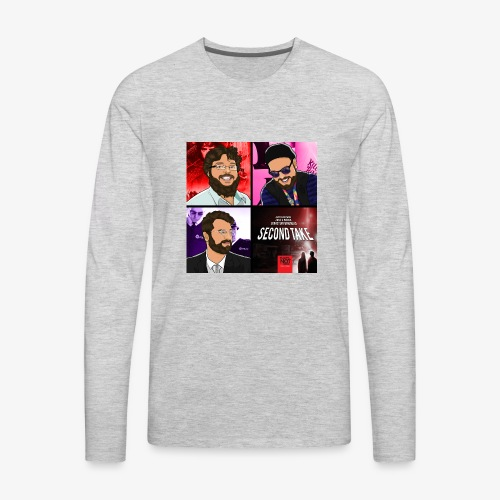 Second Take Cover - Men's Premium Long Sleeve T-Shirt