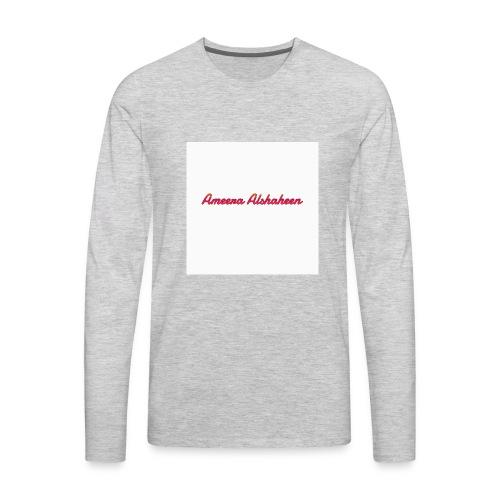 Ameera alshaheen merch - Men's Premium Long Sleeve T-Shirt